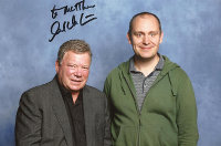 Matt and William Shatner